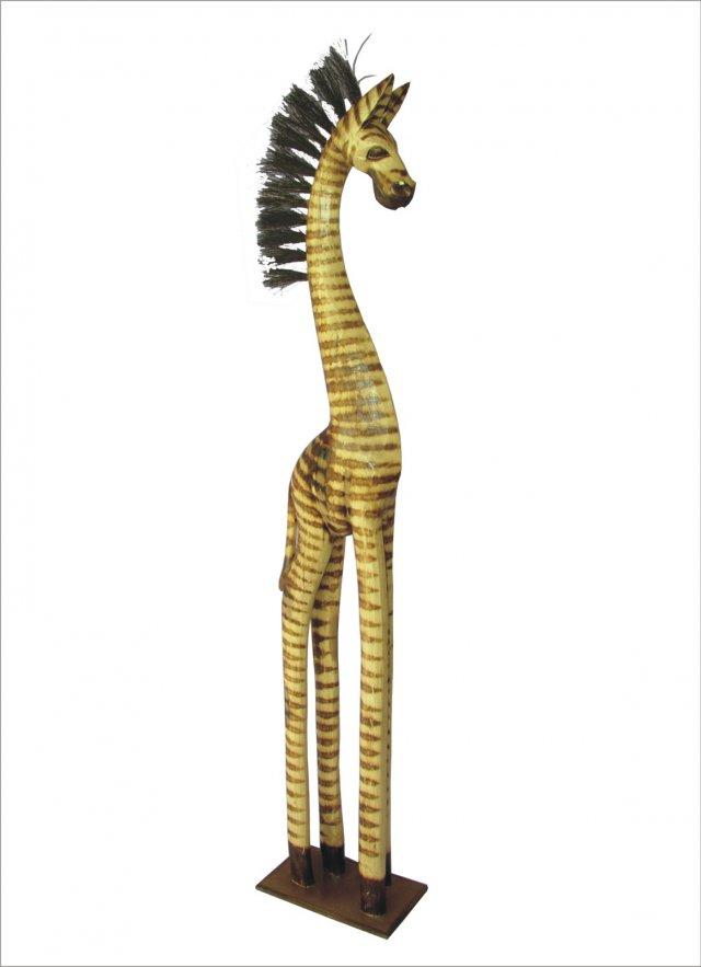 Zebra stojící natural