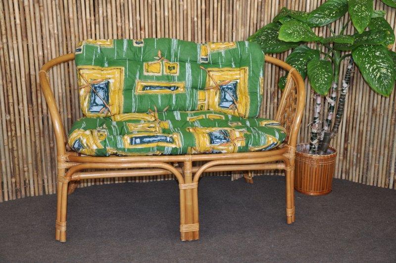 Polstr na lavici Cayman zelený