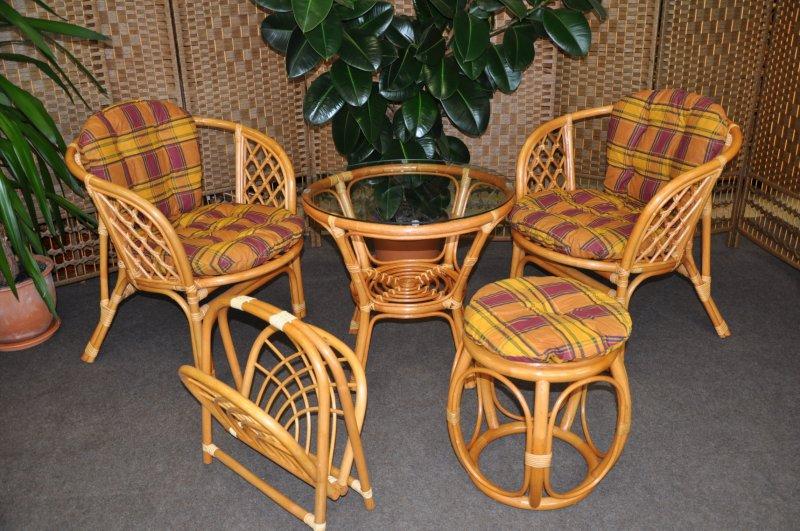 Kolekce ratanového nábytku LTC 2