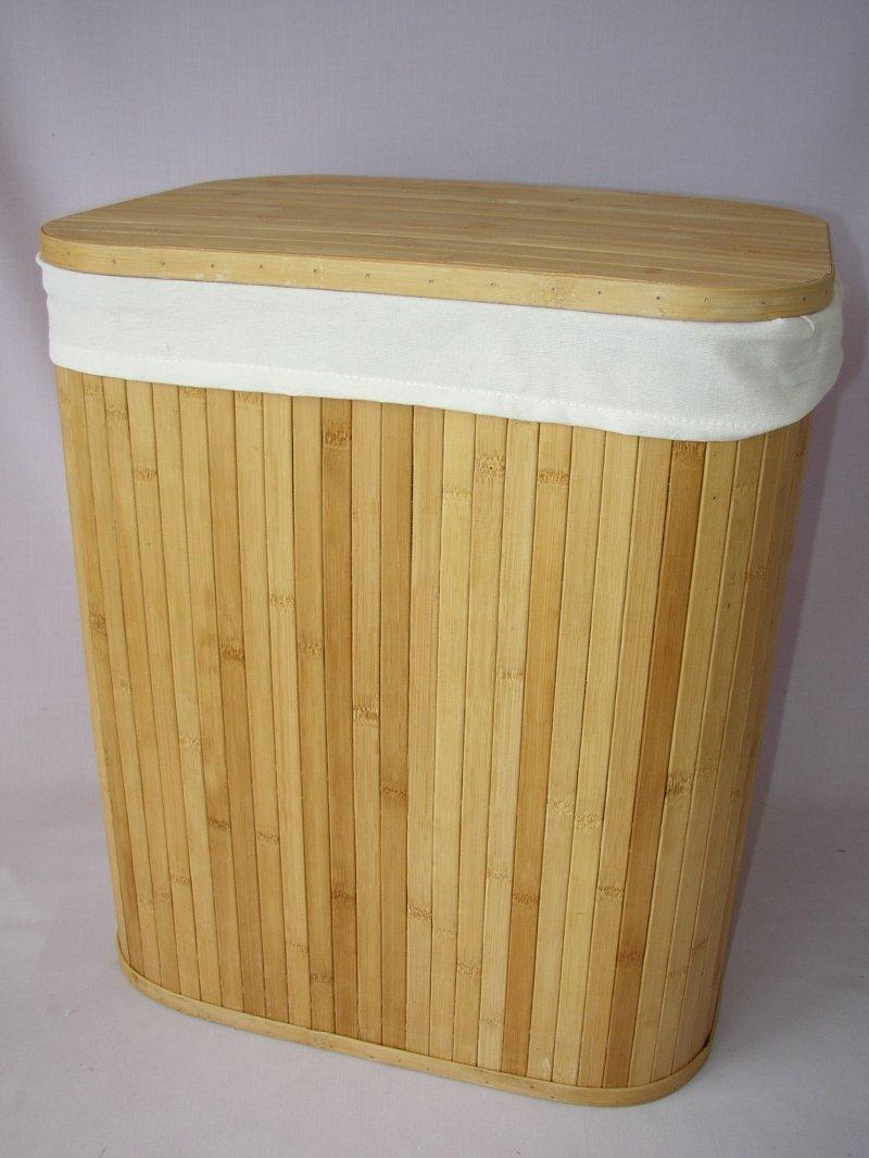 Koš prádelní bambusový