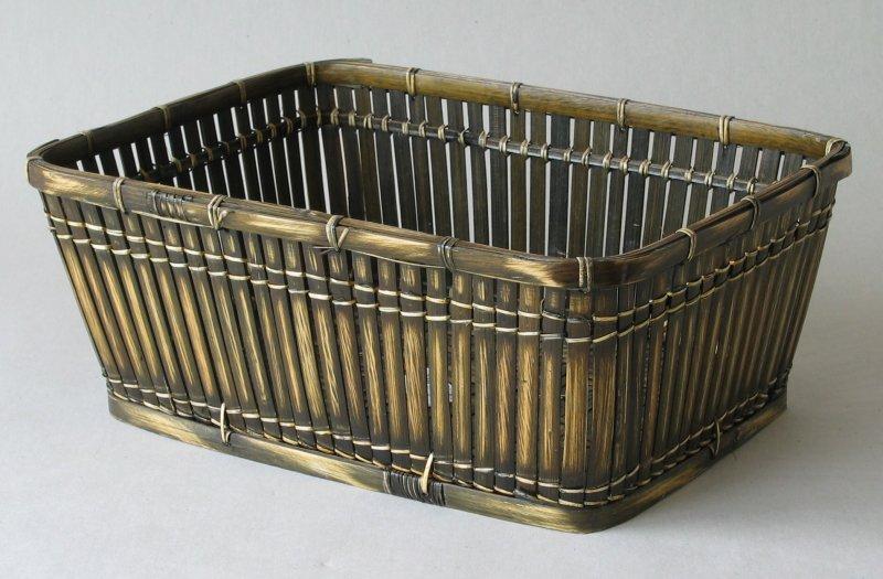 Bambusový košík tmavý XL