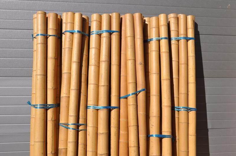 Bambusová tyč průměr 8-10 cm a délka 4 metry