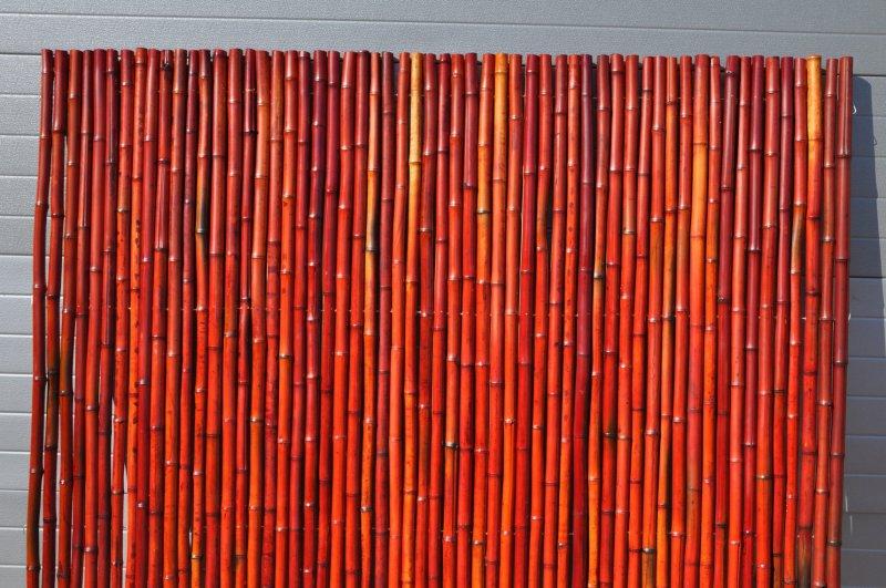 Bambusov� plot 2x1,8 m, 26-35 mm barven� v�nov�