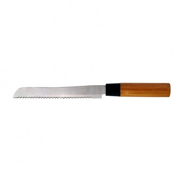 Nůž na chléb bambus