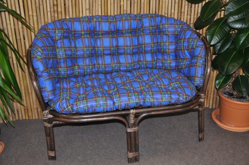 Polstr na lavici Cayman modrý MAXI