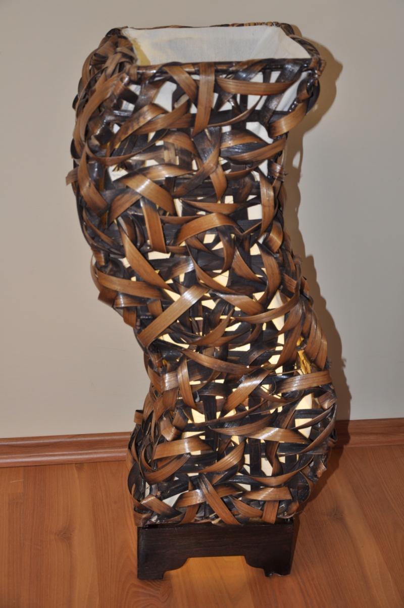Lampa bambusová střední tvar S
