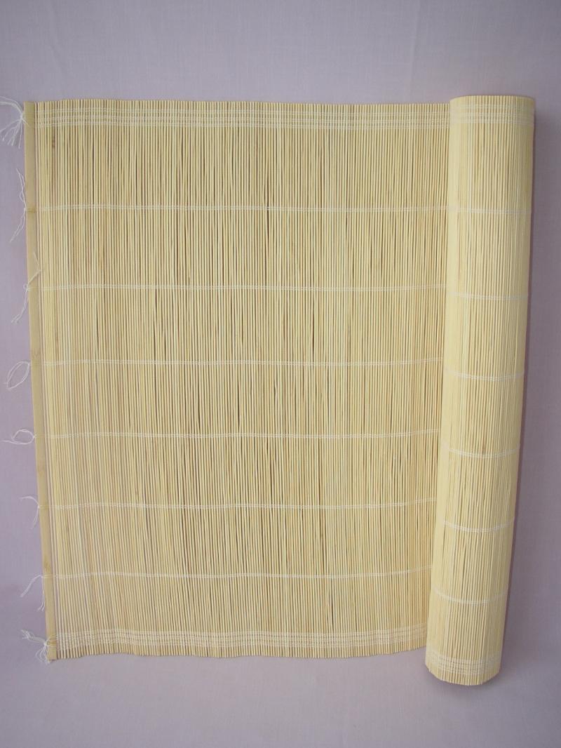 Rohož bambusová na stěnu 80x200 cm typ 2