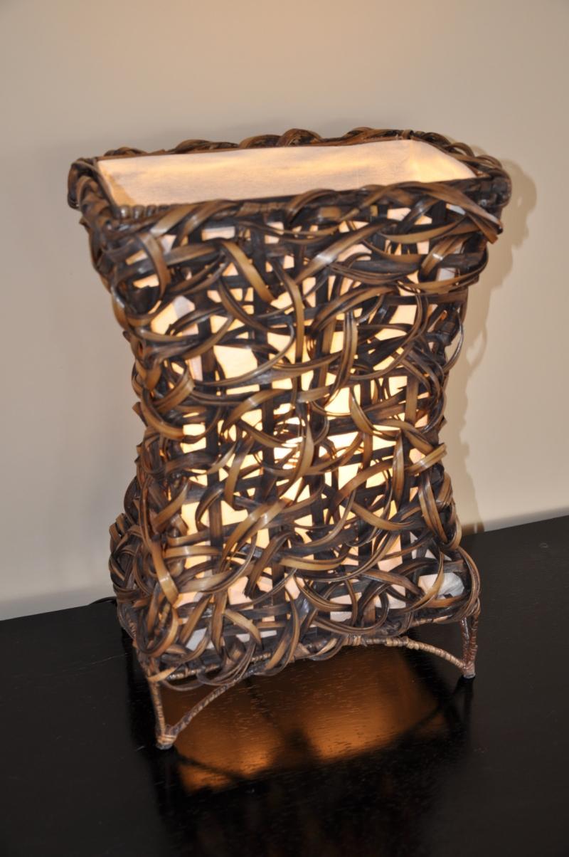 Lampa bambusová malá X