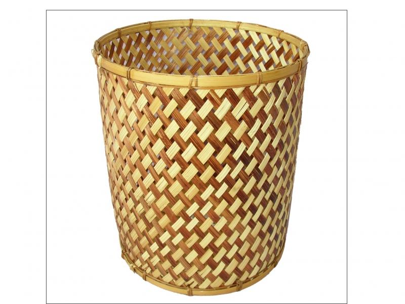Koš bambusový XL