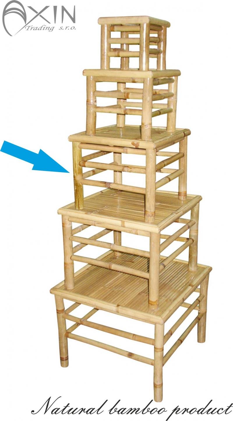 Bambusový stolek L