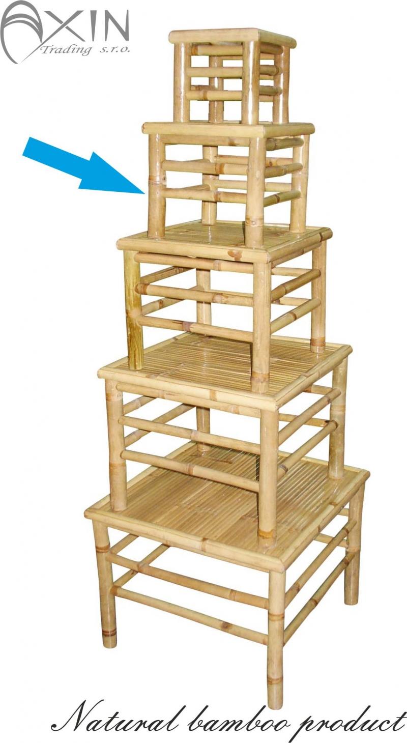 Bambusový stolek M