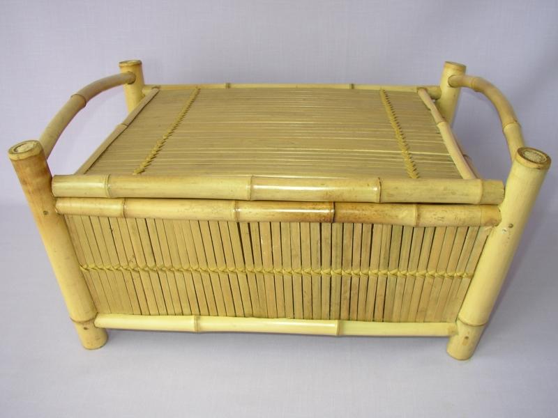 Truhla bambusová menší natural  - vzhledové vady