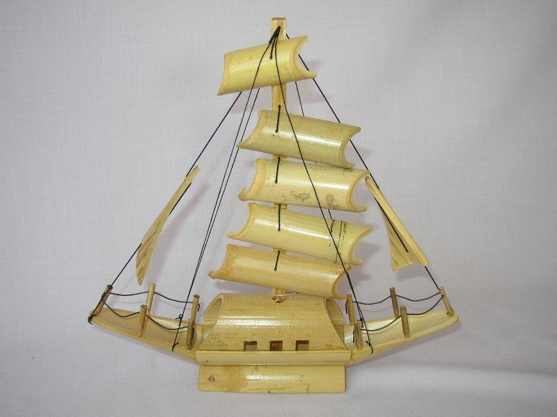 Loďka bambusová