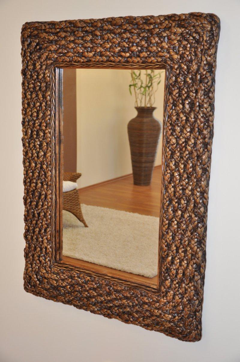 Zrcadlo vodní hyacint obdélník