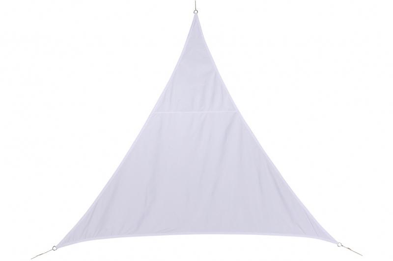 Stínící plachta trojúhelník 4m - bílá