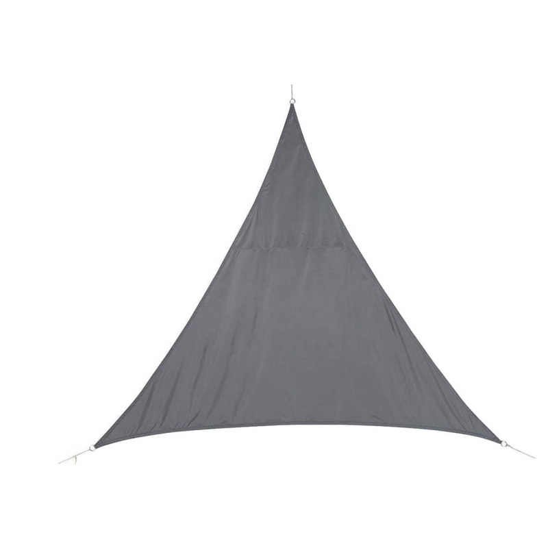 Stínící plachta trojúhelník 3m - šedá