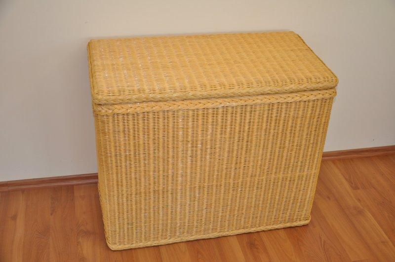 Ratanová prádelní truhla LTC medová