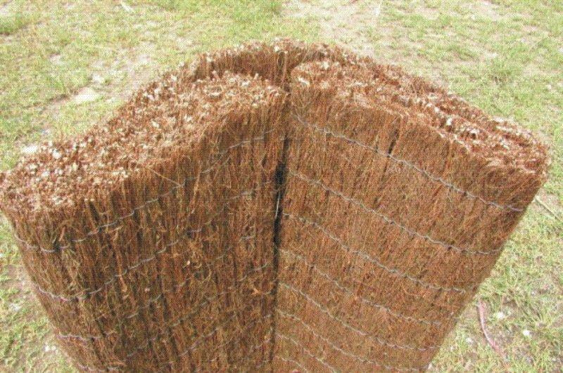 Rohož plotová - vřes 130x500 cm